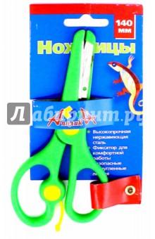 Ножницы (140 мм, с фиксатором) (С0443-01) АппликА