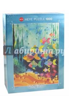 Пазл Стая рыбок, 1000 деталей (29779)Пазлы (1000 элементов)<br>Пазл Стая рыбок, 1000 деталей.<br>Размер собранной картинки: 70х50 см.<br>Упаковка: коробка, картон. <br>Сделано в Германии.<br>