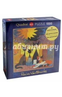Пазл Ожидание у входа, 1000 деталей (29773)Пазлы (1000 элементов)<br>Пазл Ожидание у входа, 1000 деталей.<br>Размер собранной картинки: 56х56 см.<br>Упаковка: коробка, картон. <br>Сделано в Германии.<br>