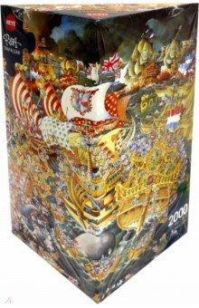 Пазл Трафальгарская битва, 2000 деталей + постер (29795)Пазлы (2000 элементов и более)<br>Пазл Трафальгарская битва, 2000 деталей + постер.<br>Размер собранной картинки: 97х69 см.<br>Упаковка: коробка, картон. <br>Сделано в Германии.<br>