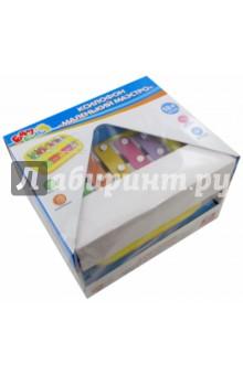 Игрушка-ксилофон Маленький маэстро (СС76754)Музыкальные инструменты<br>Игрушка-ксилофон Маленький маэстро.<br>Материал: пластмасса с элементами металла. <br>Для детей от 18 месяцев. <br>Упаковка: коробка, картон. <br>Сделано в Китае.<br>