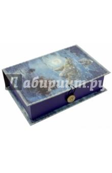 Коробка подарочная БОЛЬШАЯ МЕДВЕДИЦА (42362)Другое<br>Коробка подарочная.  <br> Материал: мелованного, ламинированного, негофрированного картона плотностью 1100 г/м2<br>Полноцветный декоративный рисунок на внутренней и наружной части<br>Размер 18 х 12 х 5 см.<br>Сделано в Китае.<br>