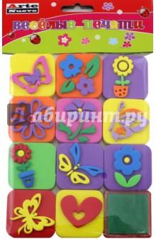 Веселые печати Цветы (DT-1014-14)