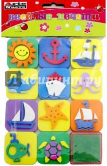 Веселые печати Море (DT-1014-6)
