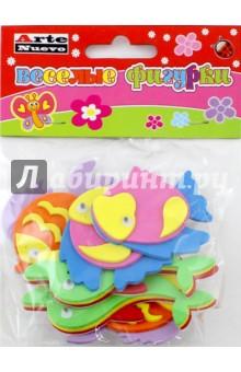 Веселые фигурки Рыбки (DT-1017)Сопутствующие товары для детского творчества<br>Забавные фигурки-наклейки из мягкого пластика.<br>В наборе 6 наклеек.<br>Материал: вспененный полимерный материал.<br>Упаковка: пакет с подвесом.<br>Для детей от 3 лет.<br>Сделано в Китае.<br>