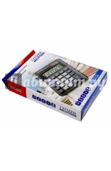Калькулятор настольный Citizen черный, 8-разрядный (SDC-011S)