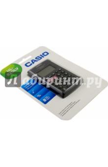 Калькулятор карманный Casio черный, 8-разрядный (HL-820LV)Калькуляторы<br>Калькулятор карманный.<br>Разрядность дисплея:  8-разрядный<br>Специальные функции: память, расчет процентов, вычисление квадратного корня.<br>Материал: пластмасса с элементами из металла.<br>Упаковка: блистер.<br>Сделано в Китае.<br>