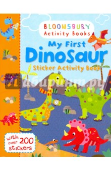 My First Dinosaur. Sticker Activity BookЛитература на иностранном языке для детей<br>Complete the dinosaur jigsaw, colour in the baby dinosaurs, add stickers to the dinosaur beach party and much more! Have a roaring good time with this exciting dinosaurs activity book, packed full of colourful stickers. Bloomsbury Activity Books provide hours of colouring, stickering and activity fun for boys and girls alike. Every book includes enchanting, bright and beautiful illustrations which children and parents will find very hard to resist. Perfect for providing entertainment at home or on the move!<br>
