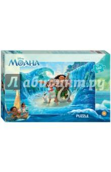 Step Puzzle-360 Моана (Disney) (96050)Пазлы (200-360 элементов)<br>Пазл Моана создан по мотивам мультфильма Моана (Disney).<br>История рассказывает о храброй девушке Моане Ваялики, которая вместе с полубогом Мауи отправляется в опасное приключение по океану, чтобы защитить свою семью.<br>Пазлы - увлекательное семейное хобби и прекрасный способ совместного времяпрепровождения с ребенком. Совершенствуют внимание и память, тренируют мелкую моторику. Способствуют развитию образного и логического мышления.<br>Размер собранного изображения - 50х34,5 см.<br>Количество деталей: 360. <br>Материал: картон.<br>Не рекомендовано детям младше 3-х лет. Содержит мелкие детали.  <br>Для детей от 6-ти лет. <br>Сделано в России.<br>