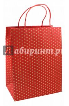 Пакет подарочный 26х12х32 ЦВЕТОЧКИ (44897)Подарочные пакеты<br>Пакет подарочный.<br>Размер 26 х 12 х 32 см.<br>Материал: плотная бумага, тиснение золотой фольгой.<br>Ручки: скрученная бумага.<br>Сделано в Китае.<br>