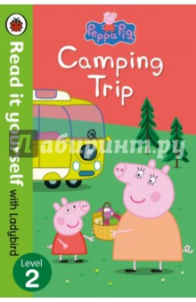 Peppa Pig. Camping Trip. Read it Yourself with Ladybird. Level 2Литература на иностранном языке для детей<br>Peppa Pig and her family are going on holiday in their camper van. Find out what happens when they get lost on the way! Read it yourself with Ladybird is one of Ladybird s best-selling reading series. For over thirty-five years it has helped young children who are learning to read develop and improve their reading skills. Each Read it yourself book is very carefully written to include many key, high-frequency words that are vital for learning to read, as well as a limited number of story words that are introduced and practised throughout. Simple sentences and frequently repeated words help to build the confidence of beginner readers and the four different levels of books support children all the way from very first reading practice through to independent, fluent reading. There are more than ninety titles in the Read it yourself series, ranging from classic fairy tales and traditional world stories to favourite children s brands such as Peppa Pig, Angry Birds and Peter Rabbit. All-new, first reference titles complete the range, with information books about favourite subjects that even the most reluctant readers will enjoy. Each book has been carefully checked by educational consultants and can be read independently at home or used in a guided reading session at school. Further content includes comprehension questions or puzzles, helpful notes for parents, carers and teachers, and book band information for use in schools. Peppa Pig: Camping Trip is a Level 2 Read it yourself book, ideal for children who have received some initial reading instruction and can read short, simple sentences with help.<br>