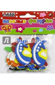 Веселые фигурки Самолеты (DT-1017)Сопутствующие товары для детского творчества<br>Забавные фигурки-наклейки из мягкого пластика.<br>В наборе 6 наклеек.<br>Материал: вспененный полимерный материал.<br>Упаковка: пакет с подвесом.<br>Не рекомендовано детям младше 3-х лет. Содержит мелкие детали. <br>Для детей от 3 лет.<br>Сделано в Китае.<br>