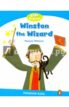 Winston The WizardИзучение иностранного языка<br>Winston is a magic wizard. He does a magic spell. Oh no! My black cat is a dog now! Where is my wand? Where is my magic? I want my cat!<br>