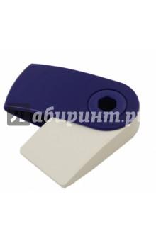 Ластик Sleeve mini (красный/синий) (182411)Ластики<br>Ластик-мини.<br>- эргономичная форма<br>- пластиковый подвижный колпачок защищает ластик от загрязнения<br>- пригоден для графитных простых и цветных карандашей<br>- не содержит ПВХ<br>- цвет колпачка в ассортименте (красный, синий)<br>Сделано в Малайзии.<br>