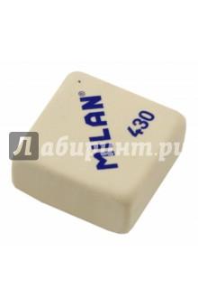 Ластик синтетический Milan, квадратный, белый (MI-430)