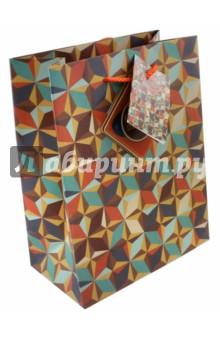 "Бумажный пакет ""Модерн"" (17,8х22,9х9,8 см) (43516) Феникс-Презент"