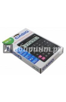 Калькулятор настол Casio черный 12-разрядный (GR-12)