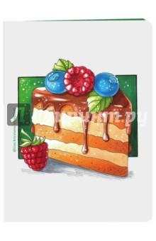 Вкусный блокнот Кусочек торта, А6Блокноты средние нелинованные<br>Карманные блокнотики не оставят вас равнодушными! На обложке - скетч от популярного иллюстратора инстаграмма - @lisa.krasnova (cha0tica). Пишите, рисуйте, этот блокнот универсальный - в нем белые листы для вашего творчества. Ловите пять вариаций вкусных блокнотов: Капкейк, Кусочек торта, Ммм... сладость, Пирожное, Пончик.<br>