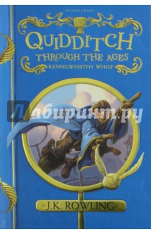 Quidditch Through the AgesЛитература на иностранном языке для детей<br>A perennial bestseller in the wizarding world and one of the most popular books in the Hogwarts School library, Quidditch Through the Ages contains all you will ever need to know about the history, the rules - and the breaking of the rules - of the noble sport of Quidditch. Packed with fascinating facts, this definitive guide by the esteemed Quidditch writer Kennilworthy Whisp charts the game s history from its early origins in the medieval mists on Queerditch Marsh, through to the modern-day sport loved by so many wizard and Muggle families around the world. With comprehensive coverage of famous Quidditch teams, the commonest fouls, the development of racing brooms, and much more, this is a must-have sporting bible for all Harry Potter fans, Quidditch lovers and players, whether the weekend amateur or the seasoned Chudley Cannons season-ticket holder. <br>This brand new edition of the most famous sports book in the wizarding world pairs J.K. Rowling s original text, with gorgeous jacket art by Jonny Duddle and line illustrations throughout by Tomislav Tomic. A contribution from the sale of each book will go to Comic Relief.<br>