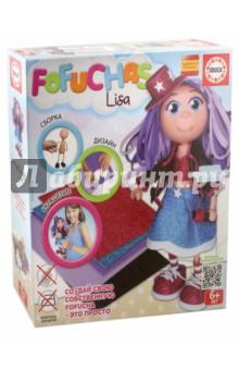 Набор для творчества. Кукла Fofucha Лиза (17385)Другие виды творчества<br>Создайте свою собственную Fofucha - это просто!<br>Слово Фофуча пришло из Бразилии и означает милая и симпатичная, также называются и эти привлекательные куколки с длинными ногами и круглыми головами. Каждая Fofucha (Фофуча) так же уникальна, как и человек, создавший её.<br>В комплект входят детали для вырезания.<br>Содержание набора:<br>- Сборное тело куклы из пластика<br>- 5 листов ЭВА (Этилен Винил Ацетат)<br>- Скотч<br>- Схемы<br>- Картонные детали<br>- Самоклеящиеся глаза и рот<br>- Инструкция<br>- Видео инструкции доступны на сайте производителя.<br>Для детей от 6-ти лет.<br>Упаковка: картонная коробка.<br>Сделано в Испании.<br>