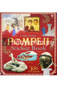Pompeii Sticker BookЛитература на иностранном языке для детей<br>The speed with which Pompeii was enveloped by volcanic lava has left us an extraordinary and unique record of daily life in a Roman town. This information sticker book tells the story of that fateful day and its legacy, through photographs of mosaics, paintings and statues that were amazingly preserved and discovered in the ashes.<br>