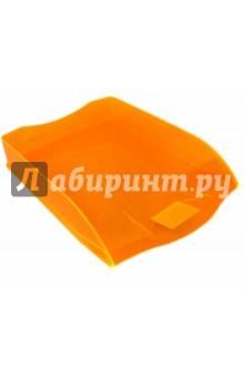 """Лоток для бумаг горизонтальный """"Премиум"""", жёлтый (IT806YI)"""