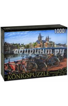Puzzle-1000 Амстердам (ГИК1000-6553)Пазлы (1000 элементов)<br>Пазл.<br>Количество элементов: 1000.<br>Размер собранной картинки: 685х485 мм<br>Материалы: картон.<br>Упаковка: картонная коробка.<br>Сделано в России.<br>