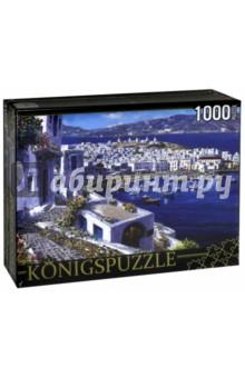 Puzzle-1000 Яркая набережная и лодки (АЛК1000-6483)Пазлы (1000 элементов)<br>Пазл.<br>Количество элементов: 1000.<br>Размер собранной картинки: 685х485 мм<br>Материалы: картон.<br>Упаковка: картонная коробка.<br>Сделано в России.<br>