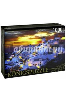 Puzzle-1000 Греция. Санторини (КБК1000-6493)Пазлы (1000 элементов)<br>Пазл.<br>Количество элементов: 1000.<br>Размер собранной картинки: 685х485 мм<br>Материалы: картон.<br>Упаковка: картонная коробка.<br>Сделано в России.<br>