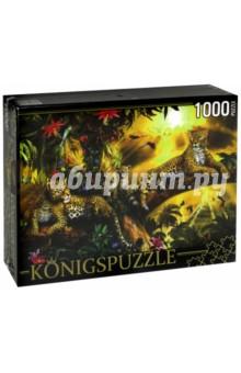 Puzzle-1000 Леопарды на дереве (МГК1000-6474)Пазлы (1000 элементов)<br>Пазл.<br>Количество элементов: 1000.<br>Размер собранной картинки: 685х485 мм<br>Материалы: картон.<br>Упаковка: картонная коробка.<br>Сделано в России.<br>