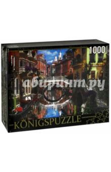 Puzzle-1000 Канал в Венеции (МГК1000-6494)Пазлы (1000 элементов)<br>Пазл.<br>Количество элементов: 1000.<br>Размер собранной картинки: 685х485 мм<br>Материалы: картон.<br>Упаковка: картонная коробка.<br>Сделано в России.<br>