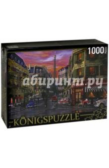 Puzzle-1000 Парижская улица (МГК1000-6499)Пазлы (1000 элементов)<br>Пазл.<br>Количество элементов: 1000.<br>Размер собранной картинки: 685х485 мм<br>Материалы: картон.<br>Упаковка: картонная коробка.<br>Сделано в России.<br>