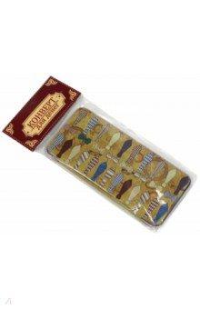 Подарочная коробочка для денег Конверт для денег. Галстуки и бабочки (43672)Конверты для денег<br>Коробочка подарочная для денег.<br>Размер 16,6 х 7,6 х 1 см.<br>Материал: черный окрашенный металл.<br>Упаковка: пакет с подвесом.<br>Сделано в Китае.<br>
