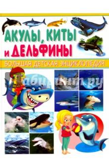 Акулы, киты и дельфиныЖивотный и растительный мир<br>Представляем новую серию детских энциклопедий, охватывающих все области человеческих знаний! Таких книг вы ещё не видели! Суперсовременная подача материала, интересные факты, великолепные иллюстрации, трёхмерные модели зданий и сооружений, наглядные изображения в разрезе и проекции - всё это выгодно отличает наши книги от аналогичных серий на рынке. Книги отпечатаны на качественной бумаге и готовы выдержать частое и долгое использование. Подарите вашему ребёнку все книги серии Большая детская энциклопедия!<br>