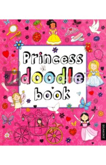 Princess Doodle BookЛитература на иностранном языке для детей<br>It s time to create your own fairytale doodles with over 100 magical illustrations to colour in and complete! There s everything from pretty princesses and cute animals to feisty heroines and magical ice palaces. This is the perfect doodle book for all budding princesses! Also available: Princess 1001 Stickers.<br>