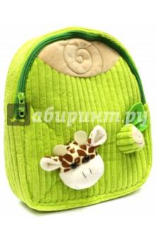 Рюкзак детский Жирафик (вельвет) (43455)Рюкзаки для малышей<br>Рюкзак детский имеет:<br>- 1 большое отделение на молнии.<br>- Ручку для переноски рюкзака в руках.<br>Длина лямок регулируется.<br>Объемные игрушки-аппликации.<br>Материал: полиэстер.<br>Размер: 28х24х8 см.<br>Для детей 3-6 лет.<br>Производство: Китай.<br>