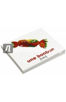 Комплект карточек Мини-20 La nourriture. Еда (французский язык)Другие ин.языки для детей<br>Набор содержит 20 двухсторонних карточек с подписями на русском и французском языках с транскрипцией. В набор вошли: 1. Сок - un Jus 2. Рис - un Riz 3. Чай - un The 4. Мёд - un Miel 5. Яйцо - un ?uf 6. Хлеб - un Pain 7. Вода - une Eau 8. Суп - une Soupe 9. Сыр - un Fromage 10. Молоко - un Lait 11. Сахар - un Sucre 12. Мясо - une Viande 13. Пирог - une Tarte 14. Масло - un Beurre 15. Салат - une Salade 16. Макароны - des Pates 17. Конфета - une Bonbon 18. Мороженое - une Glace 19. Печенье - une Patisserie 20. Картофель - une Pomme de terre/<br>Для детей от 6 месяцев.<br>