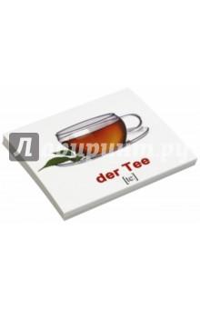 Комплект карточек Мини-20 Nahrungsmittel / Еда (немецкий язык)Другие ин.языки для детей<br>Набор содержит 20 двухсторонних карточек с подписями на русском и немецком языках с транскрипцией. В набор вошли: 1. Яйцо - das Ei 2. Чай - der Tee 3. Сок - der Saft 4. Рис - der Reis 5. Хлеб - das Brot 6. Сыр - der Kase 7. Суп - die Suppe 8. Мёд - der Honig 9. Салат - der Salat 10. Вода - das Wasser 11. Мясо - das Fleisch 12. Молоко - die Milch 13. Масло - die Butter 14. Пирог - der Kuchen 15. Сахар - der Zucker 16. Мороженое - das Eis 17. Конфета - das Bonbon 18. Печенье - das Geback 19. Макароны - die Nudeln 20. Картофель - die Kartoffel.<br>Для детей от 6 месяцев.<br>