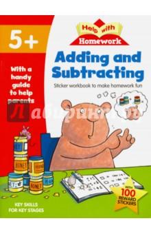 Adding & Subtracting. Year 1. Sticker workbook