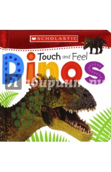 Touch and Feel Dinos (board book)Литература на иностранном языке для детей<br>Touch and Feel Dinos is a charming padded board book for very young children. Children will love discovering lots of different dinosaurs and feeling the amazing touches that appear on every page.<br>