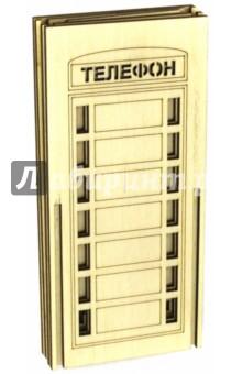 Копилка ТелефонДругое<br>Набор-конструктор для самостоятельной сборки и раскрашивания копилка Телефон. <br>Материал: фанера.<br>