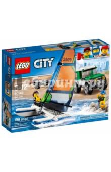 Конструктор LEGO City. Внедорожник с прицепом для катамарана (60149)Конструкторы из пластмассы и мягкого пластика<br>Конструктор LEGO City. Внедорожник с прицепом для катамарана.<br>Для детей 8-14 лет.<br>Упаковка: коробка, картон.<br>