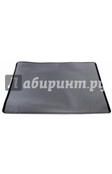 Настольное покрытие (53x40 см, черное) (7202-01)Другие виды мелко-офисной канцелярии<br>Настольное покрытие<br>Размер: 53x40 см.<br>Цвет: черный.<br>Нескользящая основа.<br>Прозрачный верхний слой.<br>