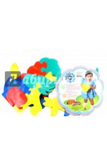 Мозаика для малышей Фигурки животных (4 штуки) (45905)Мозаика<br>Развивающие игрушки для малышей серии Мега-Флексика, также как мозаики и конструкторы серии Флексика выполнены из мягкого полимерного материала.<br>В наборах содержаться крупные детали, что немало важно для малышей.<br>Материал: пенополиэтилен.<br>Для детей от 6-и месяцев. <br>Сделано в России.<br>