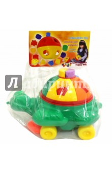 Каталка Логика. Черепаха Франек, в пакете (PL7089)Каталки<br>Игрушка-головоломка с вкладышами и каталка одновременно. Развивает цветовосприятие, мелкую моторику рук, логическое мышление и пространственное воображение. Знакомит ребенка с геометрическими фигурами. Выполнена игрушка из качественного польского пластика, не токсичка и безопасна для вашего ребенка.<br>Упаковка: пакет с подвесом.<br>Сделано в Польше<br>
