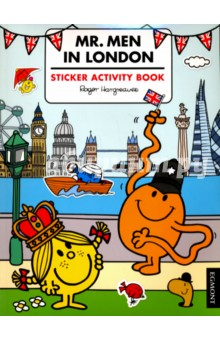 Mr. Men in London - Sticker Activity bookЛитература на иностранном языке для детей<br>Join the Mr. Men and Little Miss as they see the sights of London. With things to spot, pictures to colour and stickers to finish the sights, it has all you need to make a trip to London even more fun. <br>The Mr Men and Little Miss have been delighting children for generations with their charming and funny antics. Bold illustrations and funny stories make Mr Men and Little Miss the perfect story time experience for children aged two up. Have you met them all?<br>