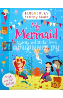 My Mermaid. Activity and Sticker BookЛитература на иностранном языке для детей<br>Have hours of fun under the sea with this beautiful mermaid activity book, packed full of activities and stickers. Colour in the seahorses, match the mermaids to their shadows, complete the under water scene and much more! Bloomsbury Activity Books provide hours of colouring, doodling, stickering and activity fun for boys and girls alike. Every book includes enchanting, bright and beautiful illustrations which children and parents will find very hard to resist. Perfect for providing entertainment at home or on the move!<br>