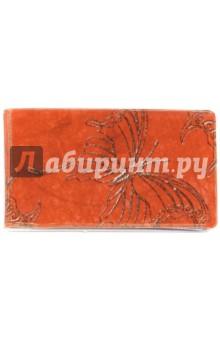 Визитница Серебряная бабочка на красном фоне (038004виз002)Визитницы<br>Визитница.<br>20 вкладышей.<br>Материал: пленка ПВХ.<br>Упаковка: пакет с подвесом.<br>Сделано в России.<br>
