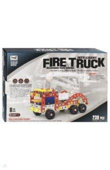 Конструктор Пожарная машина в коробке 239 деталей (02283)Металлические конструкторы<br>Металлические конструкторы - это прекрасная развивающая игрушка для детей и взрослых. Каждый мальчик любит возиться с инструментами, закручивать различные винтики и гайки. Сложность создаваемых моделей зависит только от количества деталей и фантазии. Детские конструкторы из металла - это игрушка, которая позволяет в игре развивать пространственное мышление, мелкую моторику, внимательность и фантазию. В наборе: металлические и  пластиковые  детали (239 шт.), 2 инструмента для сборки, инструкция. <br>Материал: металл, пластмасса.<br>Упаковка: картонная коробка.<br>Для детей от 8 лет.<br>Сделано в Китае.<br>