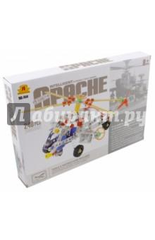Конструктор Супер-вертолет Apache 240 деталей (02787)Металлические конструкторы<br>Металлические конструкторы - это прекрасная развивающая игрушка для детей и взрослых. Каждый мальчик любит возиться с инструментами, закручивать различные винтики и гайки. Сложность создаваемых моделей зависит только от количества деталей и фантазии. Детские конструкторы из металла - это игрушка, которая позволяет в игре развивать пространственное мышление, мелкую моторику, внимательность и фантазию. В наборе: металлические и  пластиковые  детали (240 шт.), 2 инструмента для сборки, инструкция. <br>Материал: металл, пластмасса.<br>Упаковка: картонная коробка.<br>Для детей от 8 лет.<br>Сделано в Китае.<br>